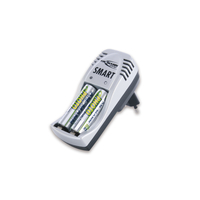 Ansmann Smart Set  AA, AAA   NiMH, 220V + NiMH Battery AA-2400mAH(2pcs)  (5107463)