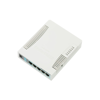 MikroTik RouterBOARD RB951G-2HnD 2.4Ghz 1000mW AP, 5xGigabit Ethernet, USB, 600MHz CPU, 128MB RAM