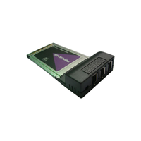 Контроллер Bestek PCM-1394-3P-VIA Firewire IEEE-1394 (Lucent) 2-port, PCMCIA