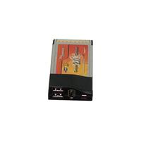 Контроллер Bestek PCM-USB2P-1394P-VIA ComboCard USB-2.0 + IEEE1394 (VIA) 2+2-port, PCMCIA