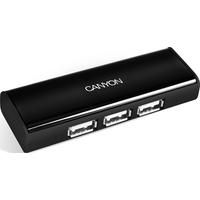 HUB Canyon CNF-HUB01 USB-2.0 4Port, Black
