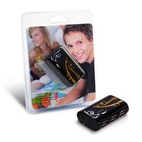 HUB Canyon CNR-USBHUB7B USB-2.0 4Port, Black