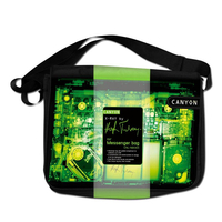 Geanta laptop Canyon CNL-NB09X Black/Green