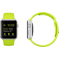 Apple Watch, Sport Band, 38mm Sport, Green