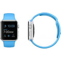 Apple Watch, Sport Band, 42mm Sport, Blue