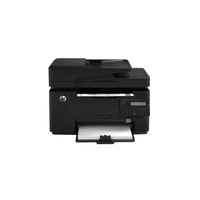 HP LaserJet Pro M127fn, printer/copier/scanner/fax, A4, 128Mb, 600 dpi, LCD, 20ppm, LAN, ADF, USB2.0