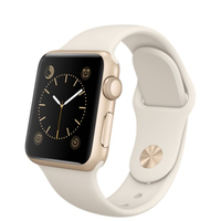 Apple Watch, Sport Band, 38mm Sport, Gold