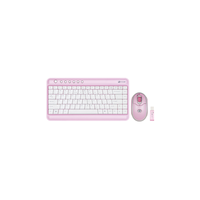 Сет клавиатура мышь G-Cube GRKST-520C TravleTini Pink