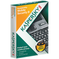 Kaspersky Mobile Security 9 (card 1 smartphone, 1 year)