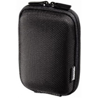 HAMA Hardcase Colour Style 40G Camera Bag,  9.5x2.5x6 cm, black   (103689)