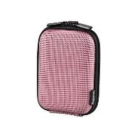 HAMA Hardcase Two Tone 40G Camera Bag , 9.5x2.5x6 cm, pink (103745)