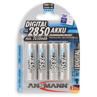 Battery Ansmann AA, (HR6), 1.2V/2850mAH  (5035092) 1buc (4pack)