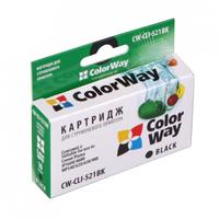 CLI-521Bk ColorWay CW-CLI-521BK