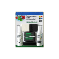 ColorWay CW-1061 6in1 Cleaning Kit (LCD-Spray + PlacticSpray + 2 Microfiber Cloth + 2 Dust Brush)
