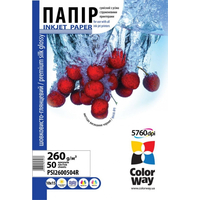 ColorWay Premium HighGlossy Wove Photo Paper 4R, 260g, 50pcs