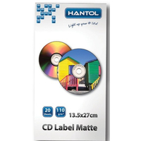 Hantol CD-LabelGlossy Photo Paper A4, 110g, 20pcs