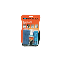 Manta MA-001 LCD Screen Kit Cleaning Spray 60ml + Microfiber Cloth + Dust Brush