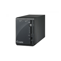 "COMPRO RS-2208, NVR, 2-bay/8-channel, Support 2x3.5"" HDD SATA 3.0Gbs up to 3Tb, Support RAID-0/1, Record video from up to 8Mpixel IP cameras simultane"