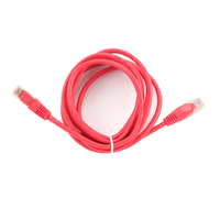 PP12-2M/R Red UTP Patch cord cat.5E,  2m