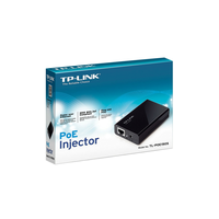 TP-Link TL-PoE150S, PoE Injector Adapter, 2x10/100Mbps Port, up to 100m, 1x48VDC PowerInput