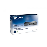 TP-Link TL-SG1024, Switch 24-port 10/100/1000Mbit, 19""
