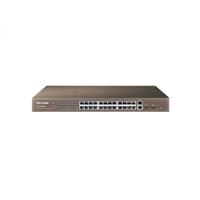 TP-Link TL-SL2452WEB, SmartSwitch 48-port 10/100Mbps, 2-port 10/100/1000Mbps, 2xSFP expansion slots