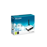 TP-Link TL-WPS510U, Wireless Printserver, 2.4GHz, 802.11g/b, 1-port USB, Detachable Antena (support MFU, StorageDevices, 4-port USB Hub)