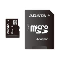 16Gb microSDHC ADATA Class4, w/SD adapter