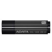 32Gb USB3.0 Flash Drive ADATA, Superior S102 PRO, grey  (Read-100MB/s, Write-50MB/s), Aluminium