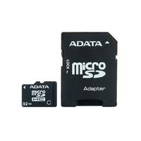 32Gb microSDHC ADATA Class4, w/SD adapter