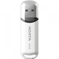 8Gb USB2.0 Flash Drive ADATA, Classic C906, glossy-white  (Read-18MB/s, Write-5MB/s), ExtremelyCompact