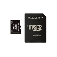 8Gb microSDHC ADATA Class4, w/SD adapter