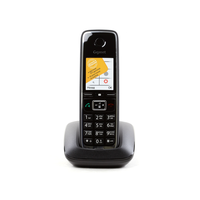 "Dect Gigaset C530 black, AOH, color LCD 1.4"", Illuminated Keypad, 2*AAA NiMH"
