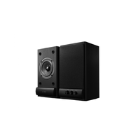 "F&D R215 (Black, 2x3W RMS(3""), 64-20kHz, 62dB, Magneticaly Shield, Treble, Wooden)"