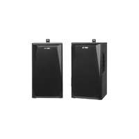 "F&D R223 (Black, 2x18W RMS(4""+1""), 20-20kHz, 65dB, Magneticaly Shield, Treble, Bass, Wooden)"