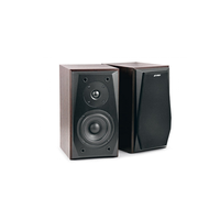 "F&D R223 (Cherry, 2x18W RMS(4""+1""), 20-20kHz, 65dB, Magneticaly Shield, Treble, Bass, Wooden)"