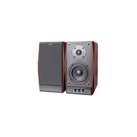 "F&D R224 (Cherry, 2x18W RMS(4""+1""), 20-20kHz, 65dB, Magneticaly Shield, Treble, Bass, Wooden)"