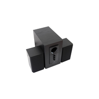 "F&D R313 (Black, 2x10W RMS(3""), 14W subwoofer(5""), 30-20kHz, 65dB, Treble, Bass, All-Wooden)"