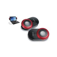 "F&D V560 (GlossyBlack, 2x1.2W RMS(2""), 30-20kHz, 65dB, USB-Power)"