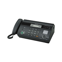 Panasonic KX-FT982UAB (Memory 56-numbers, Caller ID), Black