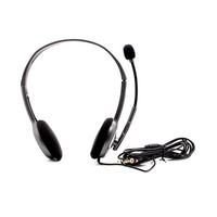 Logitech PC Headset H110 (20-20kHz, 96dB/ 100-16kHz, 44dB, 2.4m) w/microphone