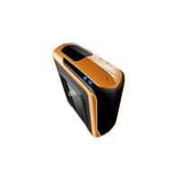 Isolatic 6020 Gamer ATX, w/Acrylic windows Side, w/o PSU, support coolers: Rear 1*80/90/120mm+Front 1*140/2*120mm+Top 2*120mm, Audio&2xUSB3.0, Orange