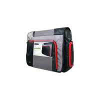 Geanta laptop Messenger Black/Red