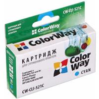 CLI-521C ColorWay CW-CLI-521C