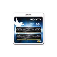 Adata 16Gb (2x8Gb) DDR3 PC12800, 1600MHz, DualChannel Kit, CL9-9-9-24