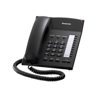 Panasonic KX-TS2382UAB, Black, Ringer Indicator, One-Touch Dialer of 20 Numbers