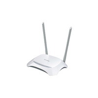 TP-Link TL-WR842N, Wireless Router 4-port 10/100Mbit, 300Mbps, USB, 2xFixed Antena 5dBi