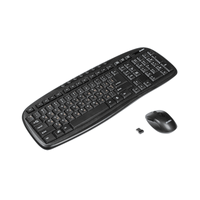Keyboard & Mouse  Wireless SVEN Comfort 3400, 1000dpi, 2.4GHz, Black