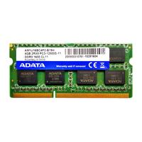 Оперативная память Adata, SODIMM DDR3 PC12800, 4Гб, 1600Ггц, 204pin, CL11, 1.35V
