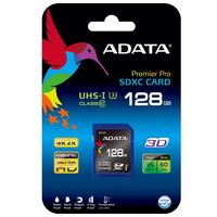 128Gb Premier Pro SDXC/SDHC UHS-I U3, ADATA Class10